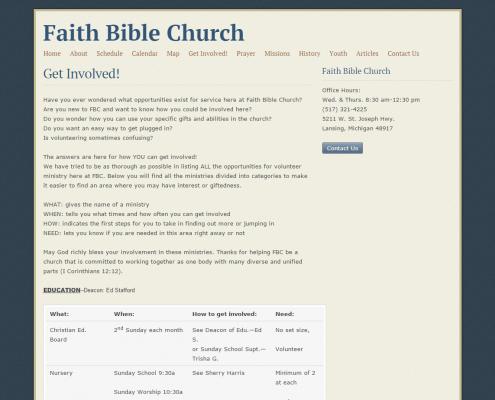 faithbiblelansing